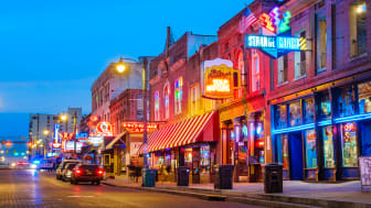 picture of Beale Street in Memphis, Tennessee