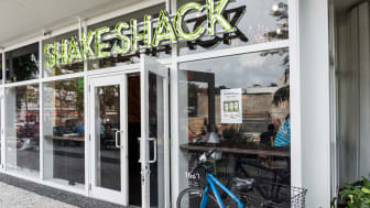 Miami Beach, Florida, USA - March 30, 2015: Shake Shack Fast Food Restaurant in Lincoln Road, Miami Beach, FL. Shake Shack is an American fast casual restaurant chain based in New York City.