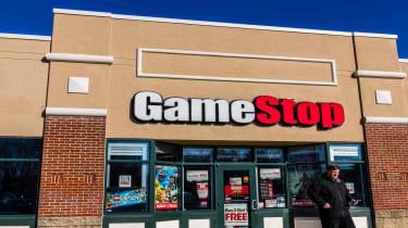 A GameStop store exterior