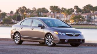 2011 Honda Civic EX-L Sedan with Navigation (exterior matches Civic EX Sedan)
