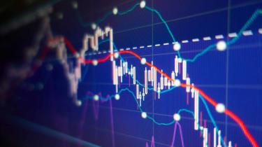 Stock chart concept art