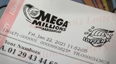 picture of Mega Millions ticket