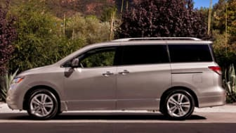 From its bold styling with full surround glass to its extensive list of family-friendly features and innovations, the 2013 Nissan Quest gets parenting better than any other minivan.