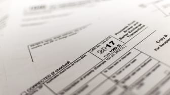 A shot of IRS Form 1099-B
