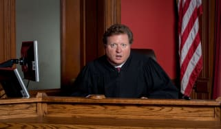 picture of judge with surprised look on his face