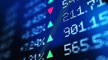 Concept art of stock tickers