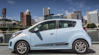 The 2014 Chevy Spark EV's EPA estimated 82 miles of range and combined city/highway 119 MPGe, make it the most efficient retail EV. With a starting price of $19,995 minus the maximum Federal