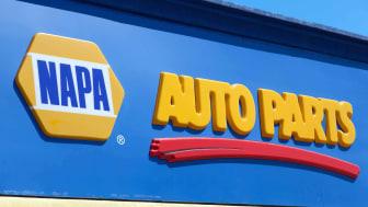 A NAPA auto parts store