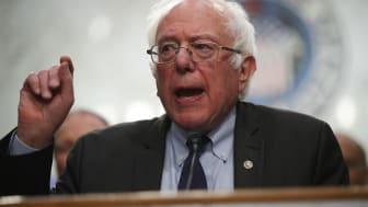 WASHINGTON, DC - SEPTEMBER 13:U.S. Sen. Bernie Sanders (I-VT) speaks on health care during an event September 13, 2017 on Capitol Hill in Washington, DC. Sen. Sanders held an event to introdu