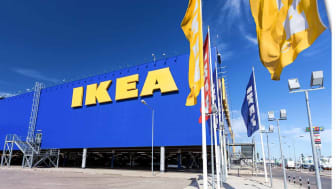 SAMARA, RUSSIA - JUNE 14, 2015: IKEA Samara Store. IKEA is the world's largest furniture retailer and sells ready to assemble furniture. Founded in Sweden in 1943