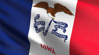 picture of Iowa flag