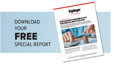 An image of Kiplinger's Income 25 Special Report