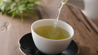 Drinking a cup of green tea can help boost your energy level.