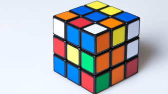 A Rubik's Cube from the 1980s
