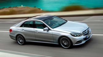 2014 Mercedes-Benz E-Class Sport Sedan.