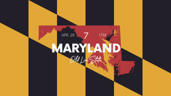 picture of Maryland with state nickname