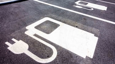 charging spot for electric vehicle