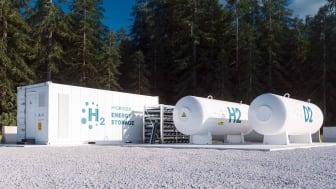 Hydrogen storage facilities