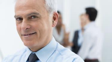 Senior Businessman Closeup