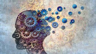 art depicting human head