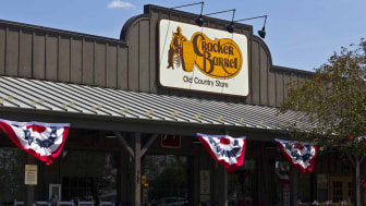 Indianapolis, US - June 24, 2016: Cracker Barrel Old Country Store Location. Cracker Barrel Serves Homestyle Food V