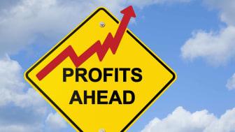 Profits ahead sign