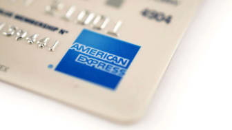 An American Express card