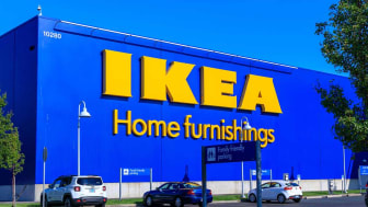 Portland, Oregon - Aug 29, 2018 : IKEA Home Furnishings Store. Located in Cascades Pkwy.