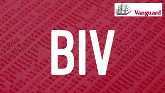 Vanguard BIV ticker