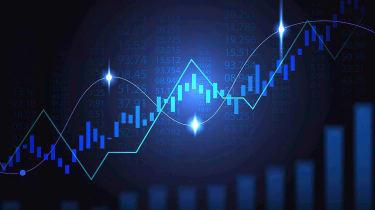Stock market concept art