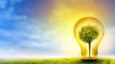 renewable green energy stock concept art
