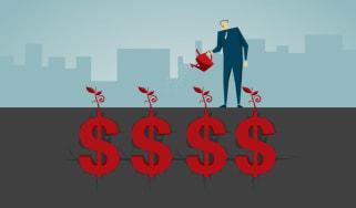 illustration of economic growth
