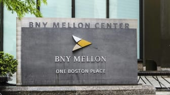A Bank of New York Mellon sign