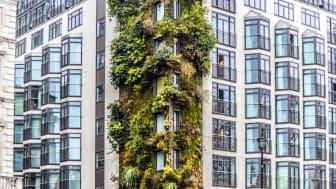 high-end apartment building