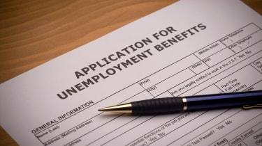 picture of unemployment benefits application form