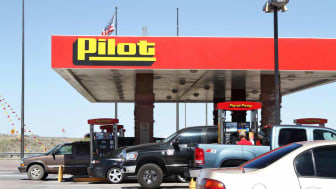 Pilot gas station in New Mexico