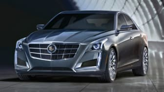 The all-new 2014 Cadillac CTS midsize luxury sedan will go sale in the fall, 2013. A longer, lower and more athletic-looking proportion is introduced on Cadillac's landmark sedan and evolves