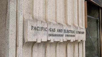 SAN FRANCISCO, CA – APRIL 24, 2018: Pacific Gas & Electric location located in San Francisco Embaradero