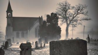 Graveyard church in Cumberland, Md.