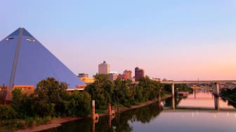 picture of pyramid building in Memphis