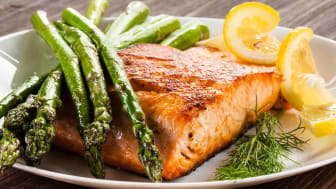 Salmon is rich in essential nutrients including potassium, iron and zinc.