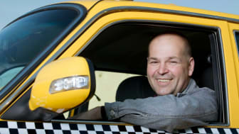 picture of a taxicab driver