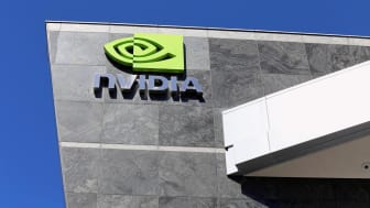 Santa Clara, CA, USA – March 18, 2014: The Nvidia World Headquarters located in Santa Clara. Nvidia is an American global technology company which specializes in the manufacture of graphics p