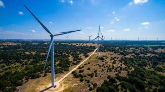 wind power farm in Texas