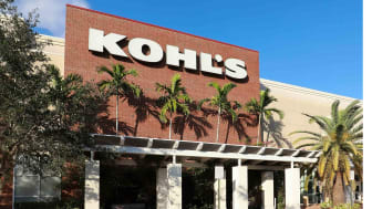 The exterior of Kohl's department store in Plantation, Fla.