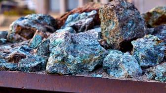 raw copper ore