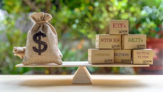 Balance of money and investing options