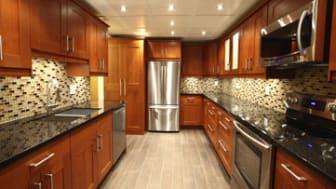 Modern luxury kitchen interior