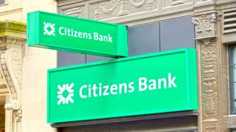 A Citizens Financial sign