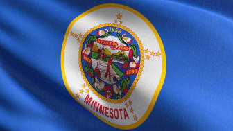 picture of Minnesota flag